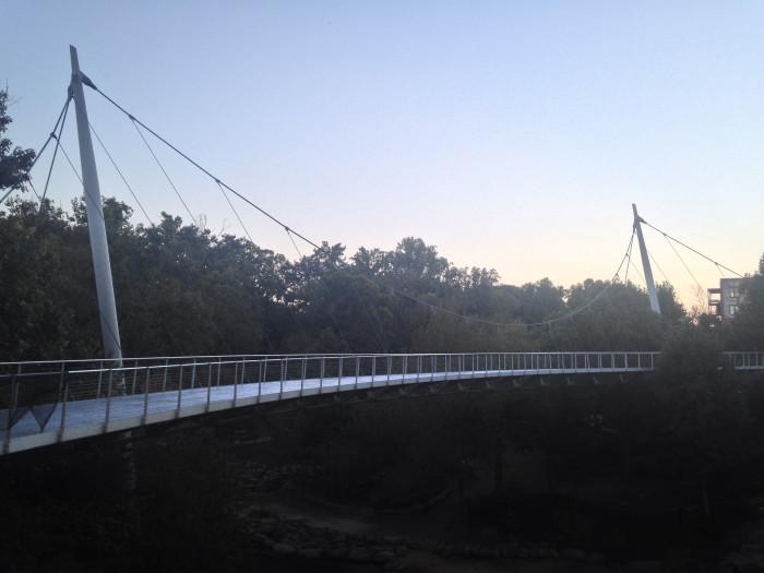 2. Liberty Bridge, Greenville, SC