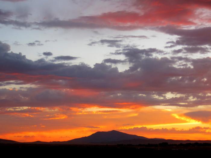12. Northern Nevada Sunset
