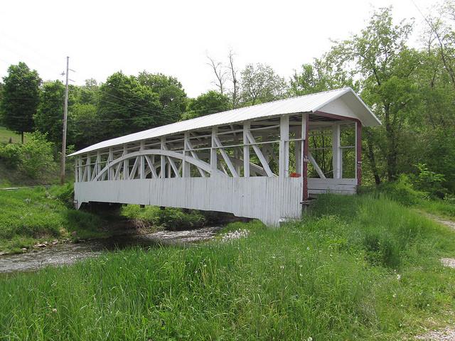 10. Osterburg Covered Bridge, East St. Clair Township