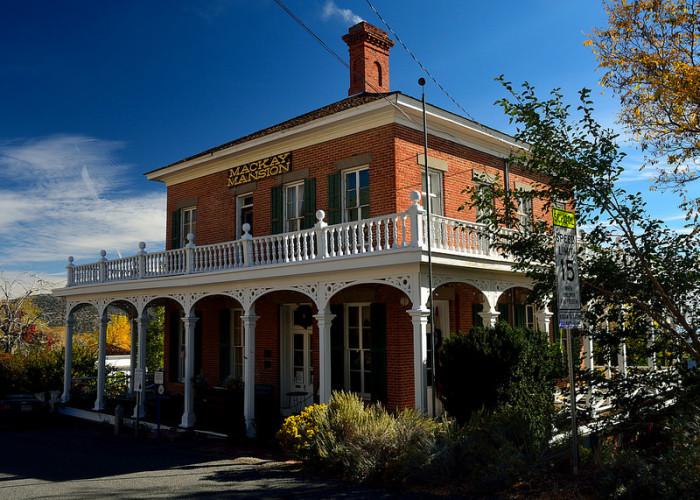 5. Mackay Mansion - Virginia City