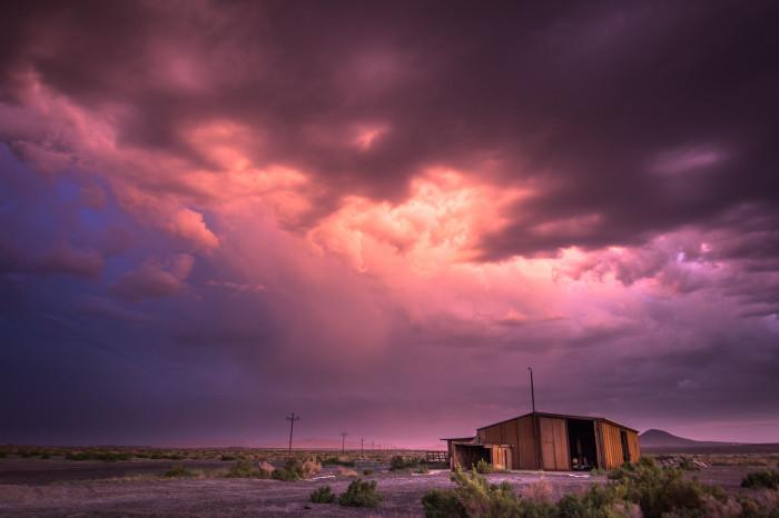 3. Sunset in Fallon, Nevada