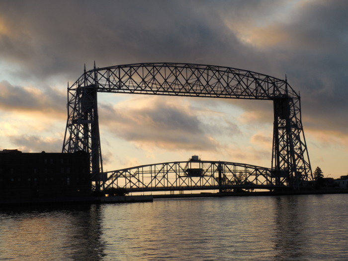 12. The Aerial Lift Bridge in Duluth is always a fantastic photo.