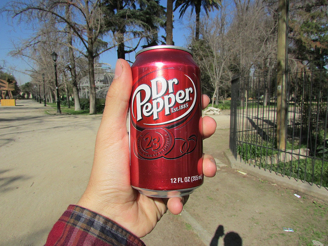 6) Dr Pepper..we guzzle this stuff like water (it's just that good).