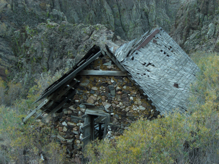 4. An abandoned house in Black Canyon.