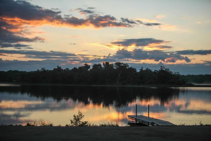 1. Lake Metigoshe State Park