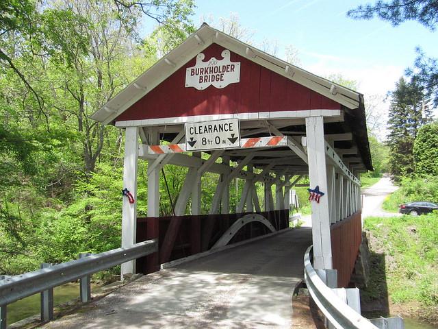 9. Burkholder Covered Bridge, Brothersvalley Township