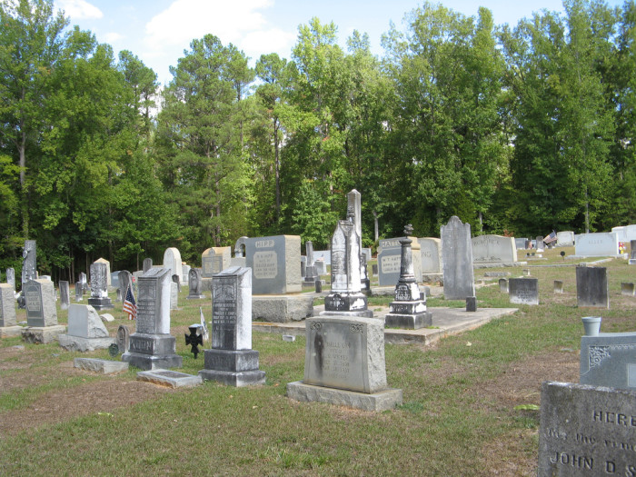 7. Manning Cemetery, Manning, SC