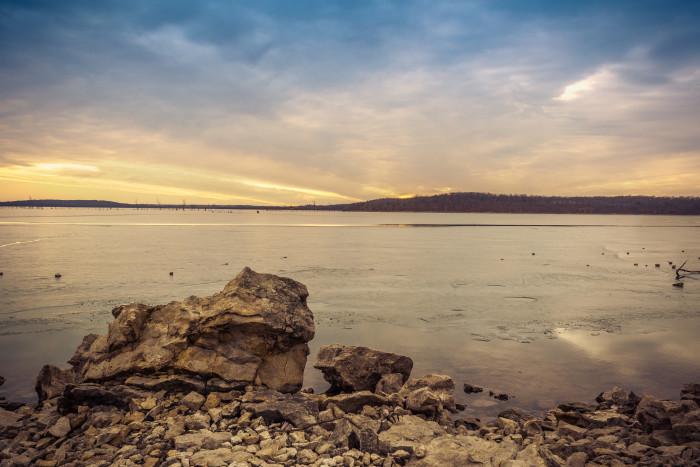 12.) Clinton Lake