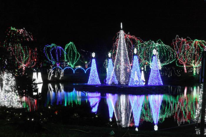 7) Columbus Zoo Wildlights