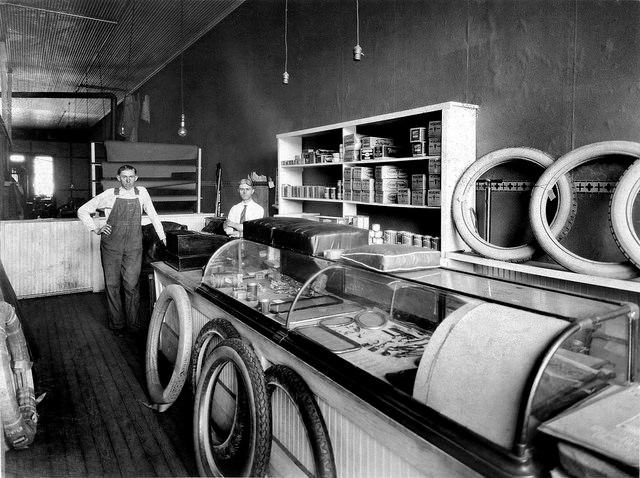 12.) Firestone Store in Girard (c. 1920)