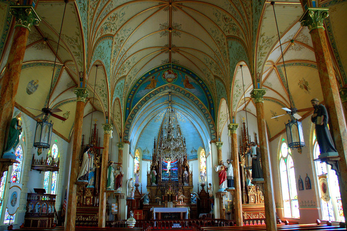 13) Painted Churches Of Texas