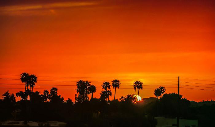 1. Unbeatable sunsets