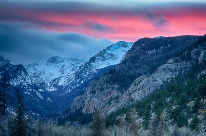 2.) Rocky Mountains