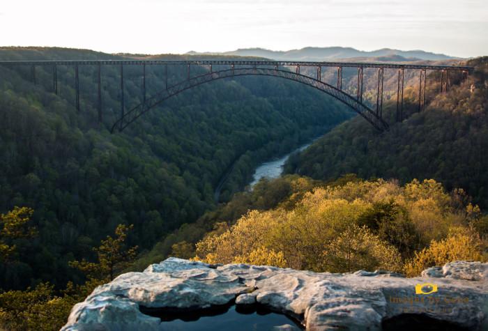 1. Hike Long Point Trail in Fayetteville.