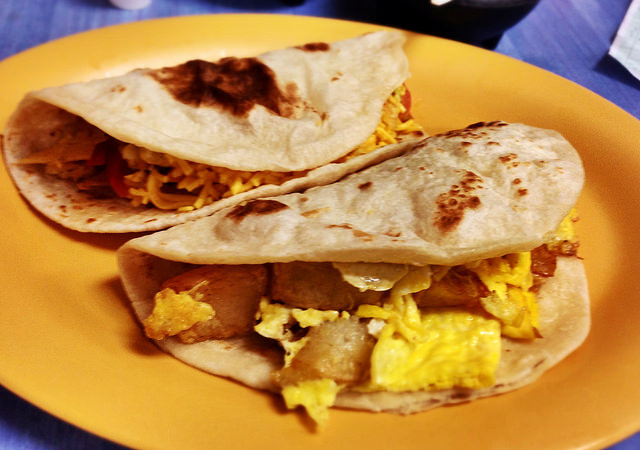 9) Speaking of Mexican food, Texans definitely have a thing for breakfast tacos. They're pretty great.