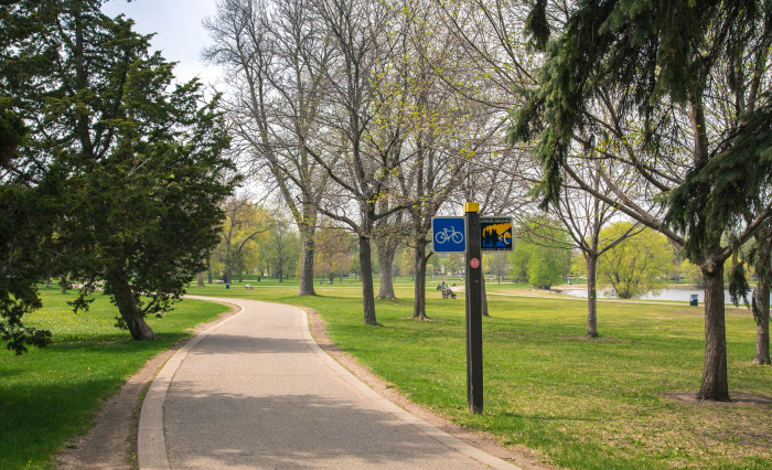 6. Grand Rounds National Scenic Byway in Minneapolis.