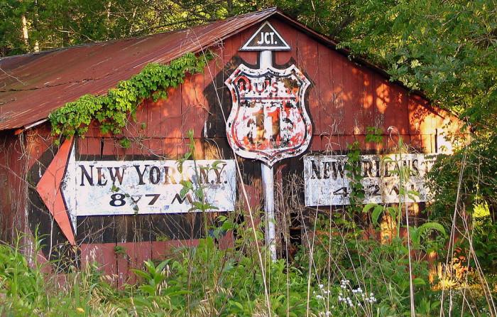 10. An abandoned barn in Dekalb County, Alabama.