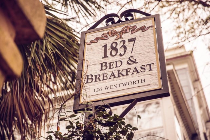 7. 1837 Bed & Breakfast, Charleston, SC