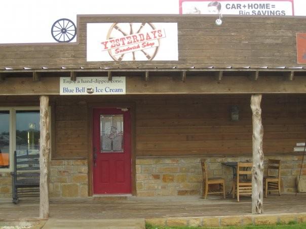 4) Yesterdays Sandwich Shop (Weatherford)