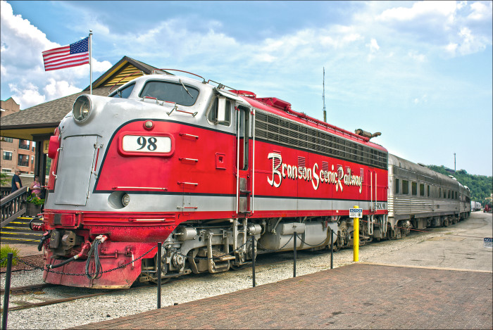 2. All aboard for Branson!