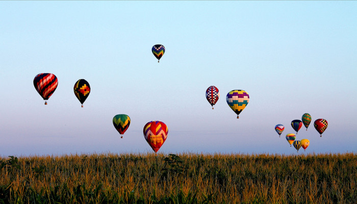 1. National Balloon Classic in Indianola