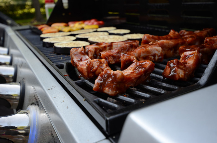 1. Have a BBQ, and invite your friends