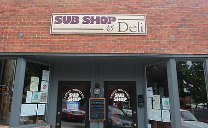 10. Smoky Mountain Sub Shop, Waynesville
