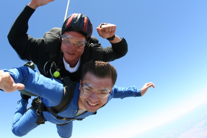 1. Go skydiving