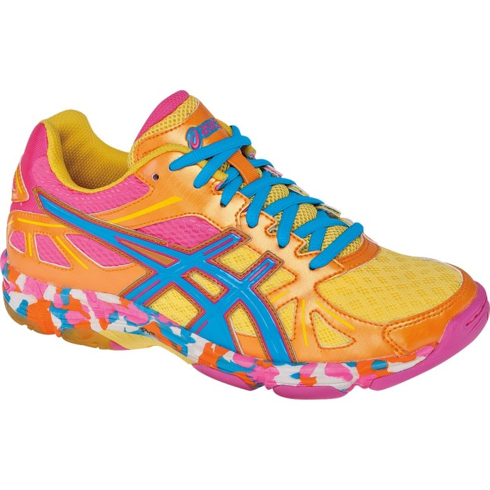 3. Shockingly bright sneakers