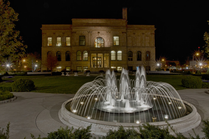 1. Tour the World Food Prize Hall of Laureates.