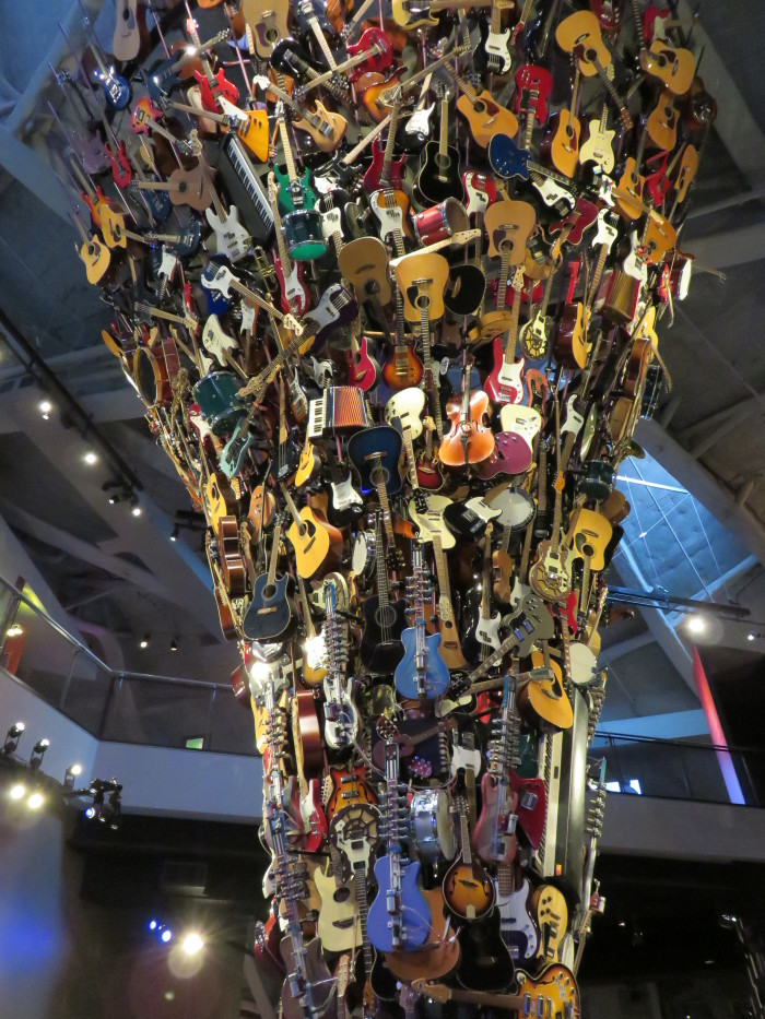 1. Music and/or sci-fi stuff  -  EMP / Experience Music Project in Seattle