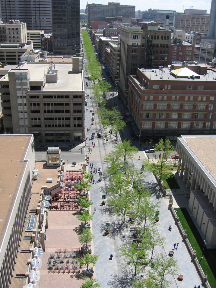 7.) Cruising/Checking out downtown's new outdoor mall