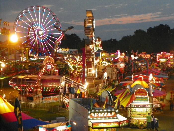 3. The State Fair of West Virginia