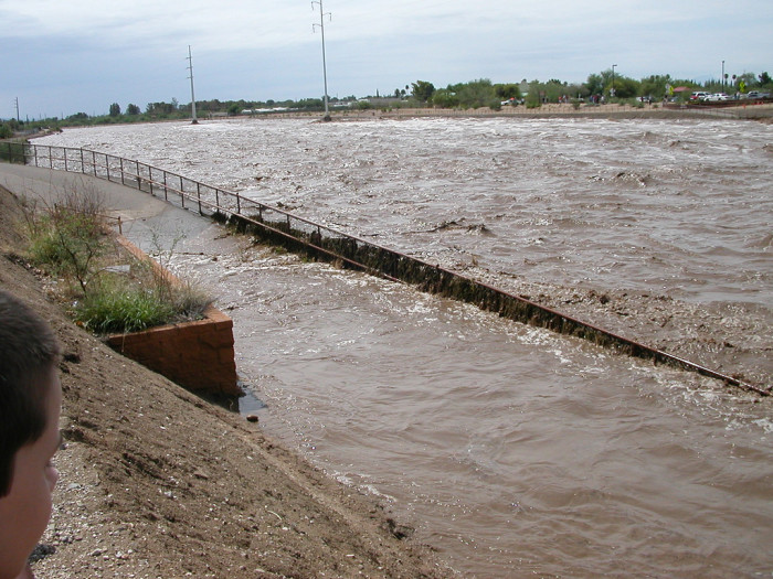 5. Flash floods