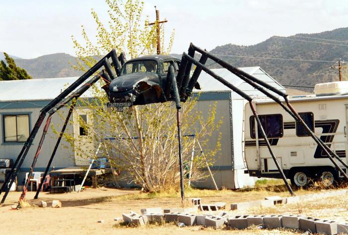 6. VW Beetle Spider - Mound House, NV