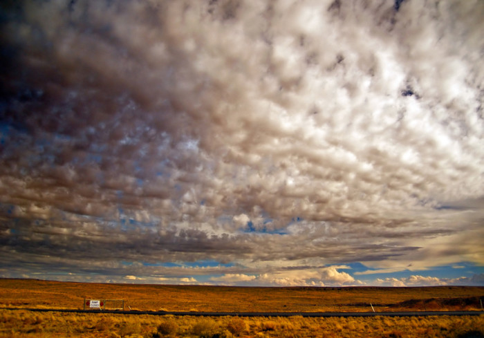 7. Cottonball Clouds over Navajo County