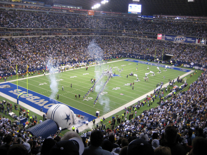 13) You haven't really experienced football until you come to Texas.
