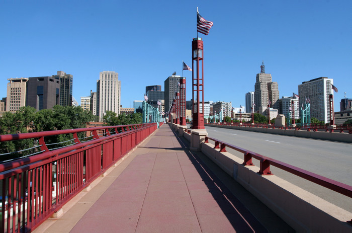 1. Wabasha Bridge in St Paul.