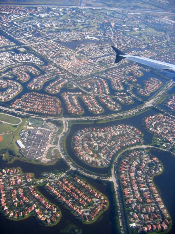 12. Aerial View Over Florida