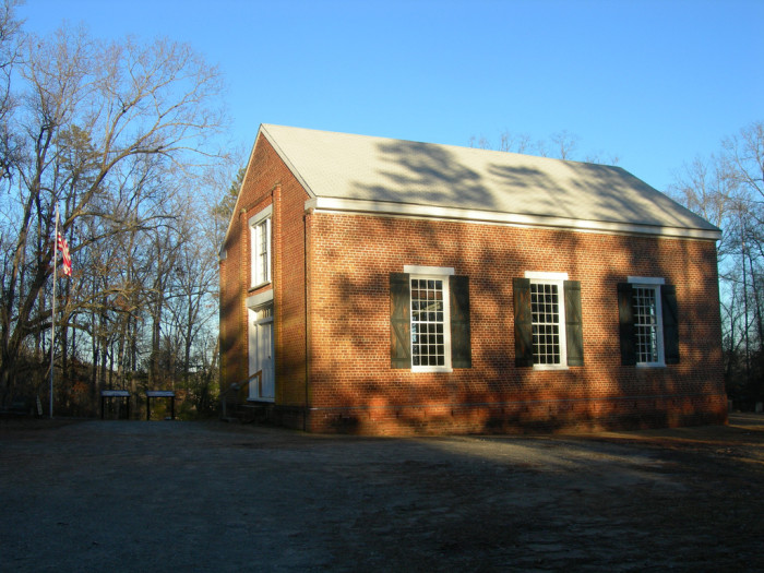 2. Old Pickens Court House, SC - The Town That Disappeared