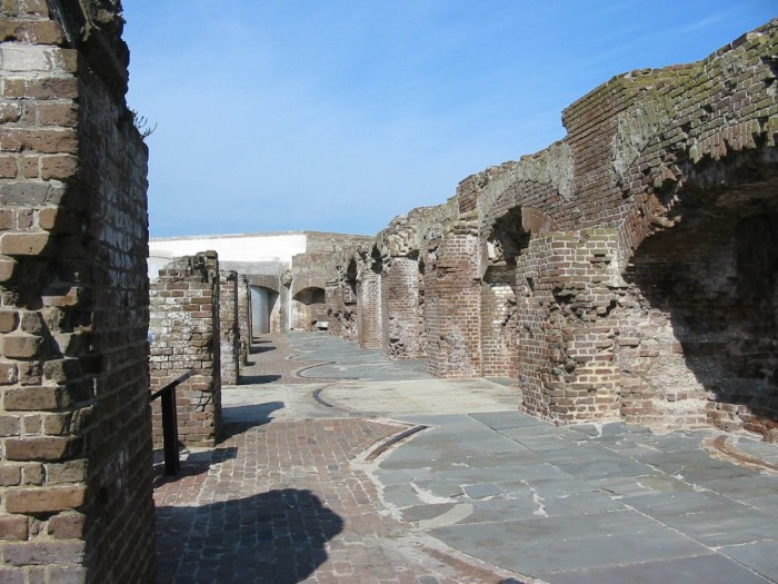 17. Fort Sumter, Charleston Harbor, SC