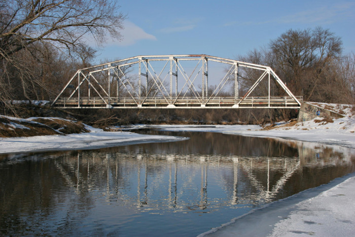 9. The Waterford Iron Bridge is one of a kind in Minnesota.