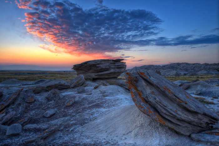 2) Layers of Incredible Beauty at Toadstool Geologic Park