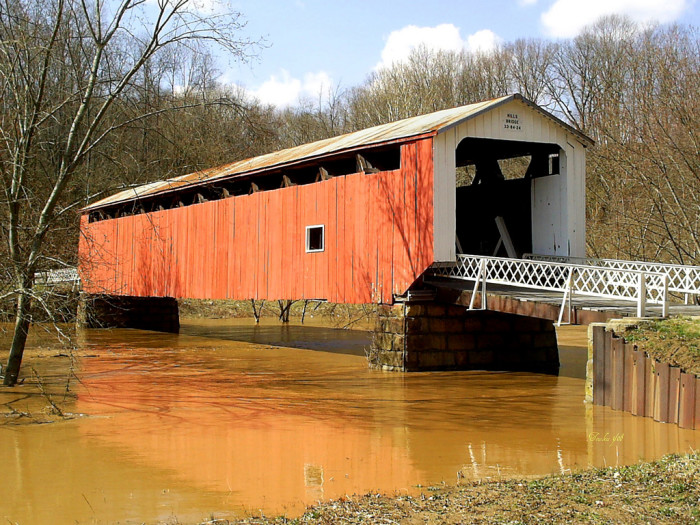 4) Hills covered bridge (Washington County)