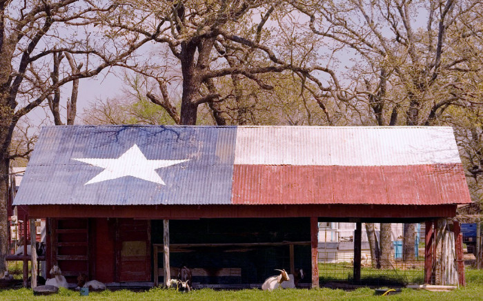 9) Texas Goat Barn (Falls County)