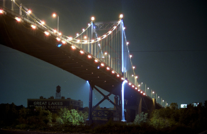 8) Anthony Wayne Bridge (Toledo)