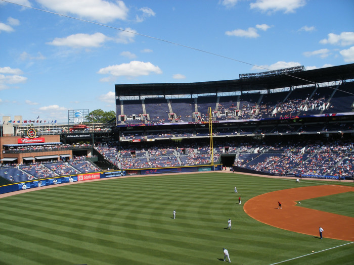 10) Attend a Braves game