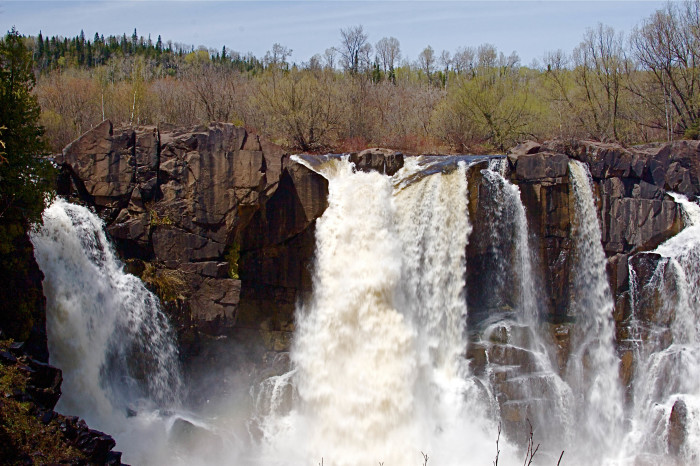 2. Head to one of Minnesota's beautiful waterfalls.