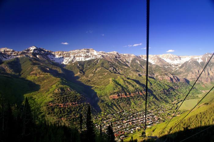 3.) Telluride & Mountain Village Gondola