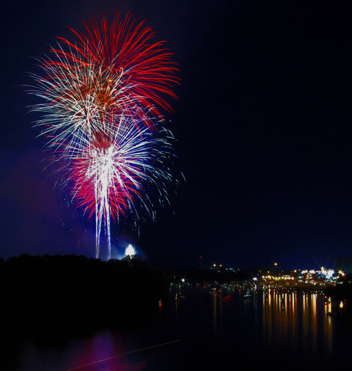 8. Independence Day Fireworks Celebration - Gadsden